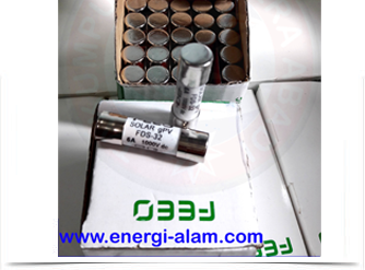 DC FUSE Link 10x38mm 5A /1000VDC Skering Proteksi PV Solar Panel Surya