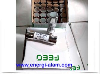 DC FUSE Link 10x38mm 6A /1000VDC Skering Proteksi PV Solar Panel Surya