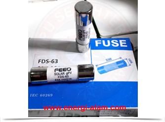DC FUSE Link 14x51mm 50A /1000VDC Skring Proteksi PV Solar Panel Surya