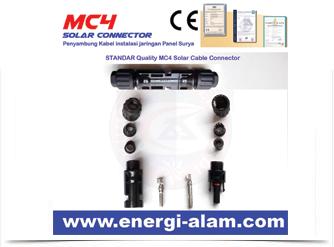 Konektor MC4 Panel Surya / Solar Connector - STANDAR Quality 2,5MM