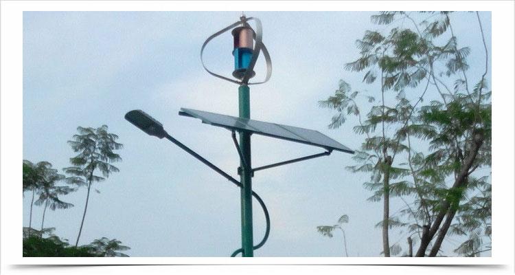 Kincir angin sumbu vertikal teknologi poros levitasi magnetik tsa300w 12v 24v lampu jalan 20