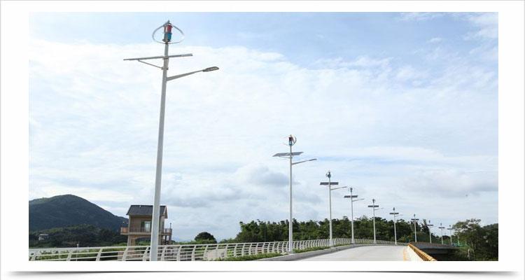 Kincir angin sumbu vertikal teknologi poros levitasi magnetik tsa300w 12v 24v lampu jalan 9
